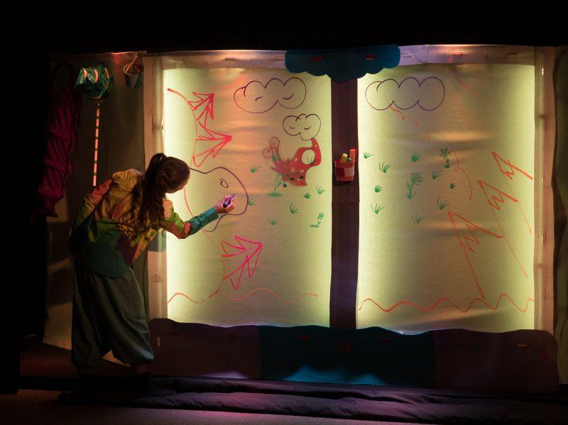 Спектакль Улитка в домике