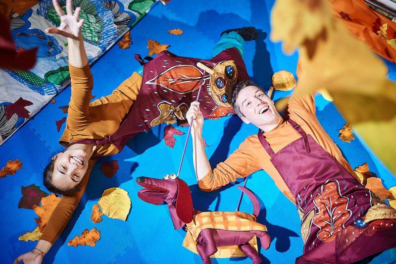 Театр на ладошке. Осень. /фотограф Владимир Соловьев/
