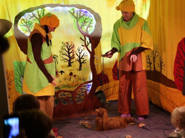 «Театр на ладошке». Осень